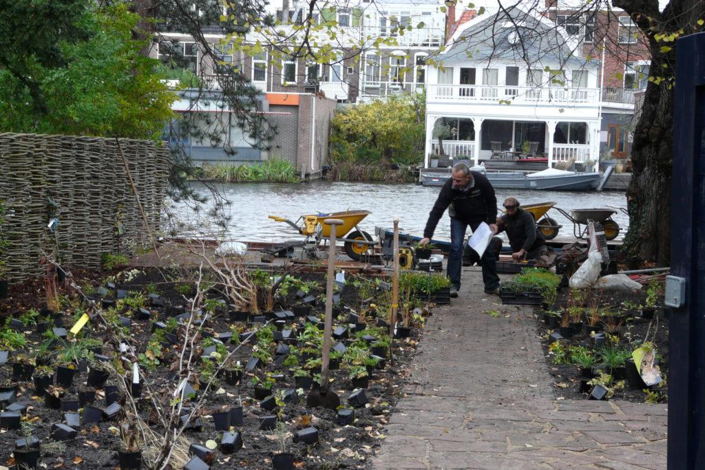 tuin in Leiden