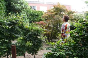 Dorine Hazelzet, apotheker in de tuin