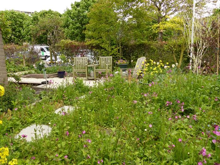 Tuin met verrassende hoeken